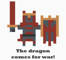 Dragon Knight - The dragon comes for war by BrewMasterMD
