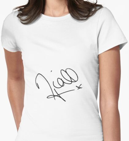 Niall Horan Signature Womens Fitted T-Shirt