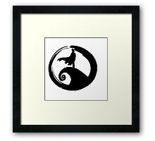 Nightmare before KID (only logo) Framed Print