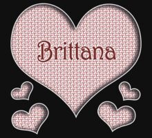 Brittana Happy Valentines Day by namastedesign