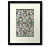 Paper Airplane 75 Framed Print