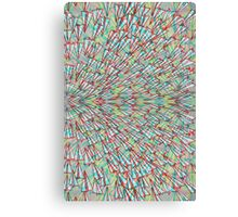 Paper Airplane 75 Canvas Print