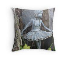 Apple Tree Fairy Throw Pillow