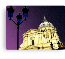 The church of the Val-de-Grâce, Paris, France Canvas Print