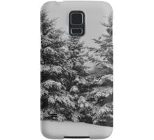 Frosted Trees Samsung Galaxy Case/Skin
