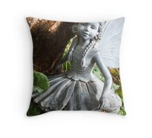 Woodland Fairy Throw Pillow