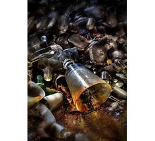 Forgotten Glass II Photographic Print