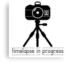 Timelapse in Progress Canvas Print