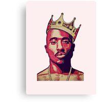Tupac Canvas Print