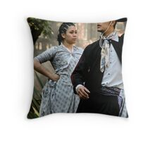 lost in the movement Throw Pillow
