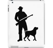 Hunter dog iPad Case/Skin