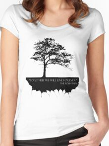 Together We Will Live Forever - THE FOUNTAIN Women's Fitted Scoop T-Shirt