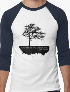 Together We Will Live Forever - THE FOUNTAIN Men's Baseball ¾ T-Shirt