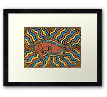 Aarl - (fish) irralb season (autumn) Framed Print