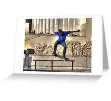 The Skateboarder Greeting Card