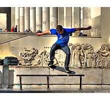 The Skateboarder Photographic Print
