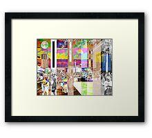 Art Show Montage Framed Print