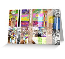 Art Show Montage Greeting Card
