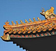 Forbidden City Beijing by Anton  Muhlbock