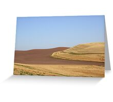 Palouse Suede Greeting Card
