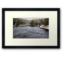 Winter at Monsal Head Framed Print