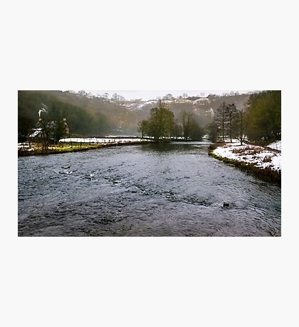 Winter at Monsal Head Photographic Print