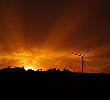 Power that Drives a Wind Farm by Biggzie