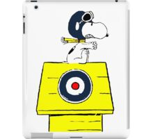 Snoopy vs Red Baron iPad Case/Skin