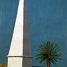 Newcastle Obelisk by Margo Humphries by Margo Humphries