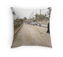 Iraqi Town Throw Pillow