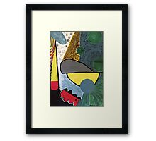 Coal to Harbour Framed Print