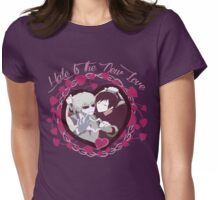 Hate is the new love - Shizaya Womens Fitted T-Shirt