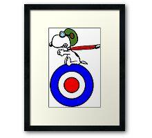 Aviator Snoopy Framed Print