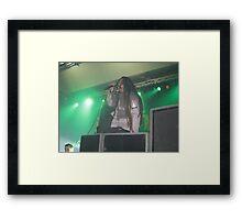 Ill Nino Live In Conert 3 Framed Print
