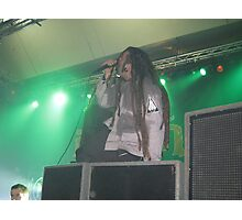 Ill Nino Live In Conert 3 Photographic Print