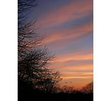 The Colours of Dusk Photographic Print