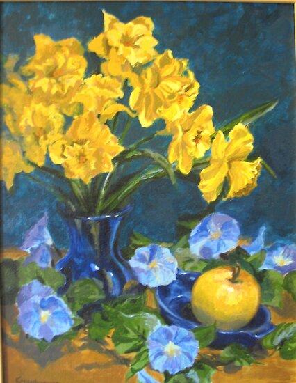 Daffodils by Karen Ilari
