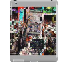 after the game, SUPERBOWL 2015, flipped photo, abstract design, gifts and decor iPad Case/Skin
