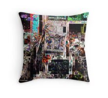after the game, SUPERBOWL 2015, flipped photo, abstract design, gifts and decor Throw Pillow