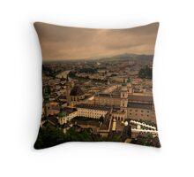 Old Town of Salzburg, Austria Throw Pillow