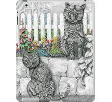 """Zen Cats"" iPad Case/Skin"