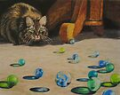 Cat Eyes by Karen Ilari