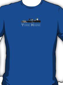 York Harbor Beach. T-Shirt