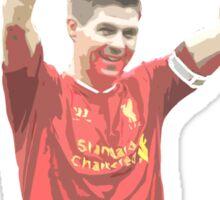 Gerrard captain Sticker