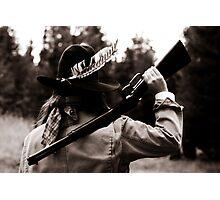 Gunslinger Photographic Print