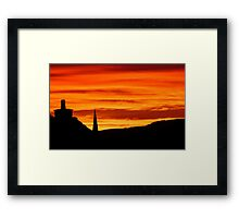 Tangerine Dreams Framed Print