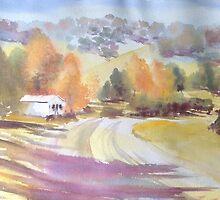 Autumn Shadows- Dorrigo Plateau by Estelle O'Brien