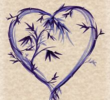 Purple Heart #2 by Rebecca Rees