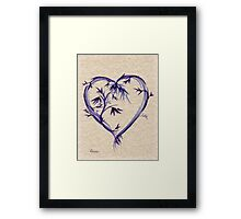Purple Heart #2 Framed Print