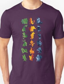 Grass, Fire, Water T-Shirt